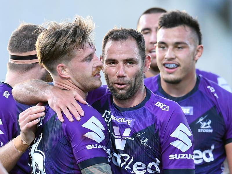 The Storm's Cameron Munster wouldn't mind if his former captain Cameron Smith signs elsewhere.