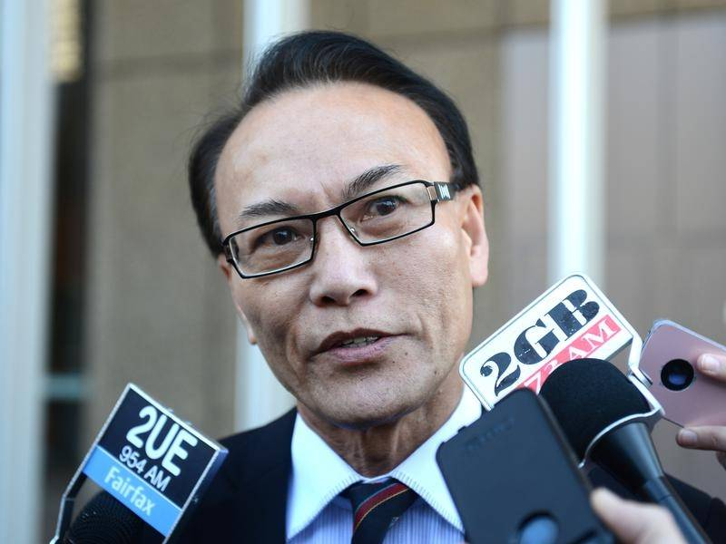 Criminal lawyer Ho Ledinh was shot dead at a cafe at Bankstown City Plaza in January 2018.